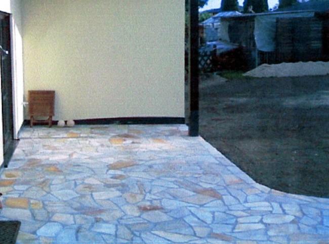 pflastersteine f r terrassen hof und wege. Black Bedroom Furniture Sets. Home Design Ideas